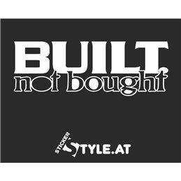 Built not Bought 2
