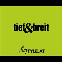 Tief und Breit
