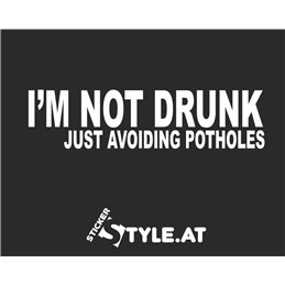 I´m Not Drunk just avoiding Potholes