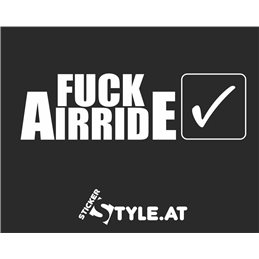 Fuck Airride Yes