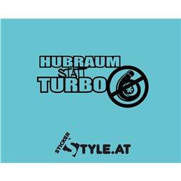 Hubraum statt Turbo