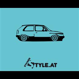 VW Golf 2 Kontur Detail