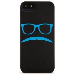 Moustache mit Brille 6 Handyaufkleber