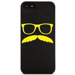 Moustache mit Brille 8 Handyaufkleber