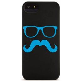 Moustache mit Brille 10 Handyaufkleber