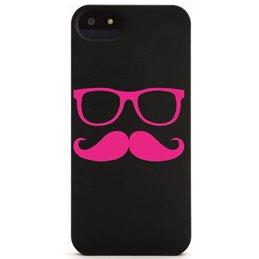 Moustache mit Brille 14 Handyaufkleber