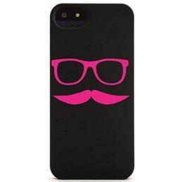 Moustache mit Brille 16 Handyaufkleber
