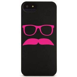 Moustache mit Brille 17 Handyaufkleber