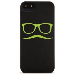 Moustache mit Brille 18 Handyaufkleber
