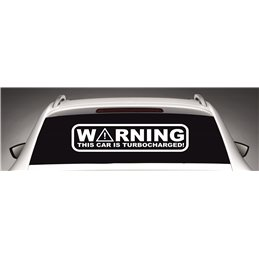Warning This Car Is Turbocharged